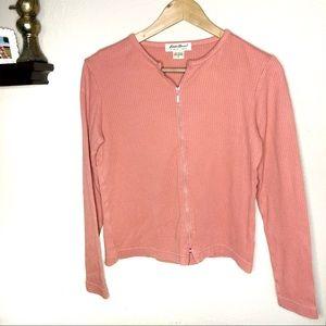 Eddie Najer▫️ woman's zip up cardigan sweater